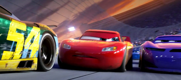 Racing cars in Cars 3
